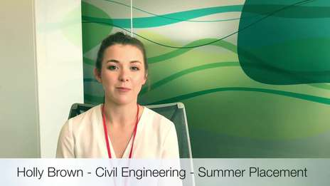 Holly - Civil Engineering - Summer Internship