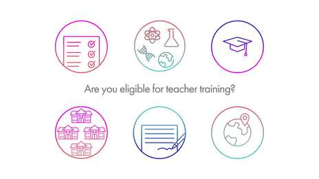 Are you eligible for teacher training?