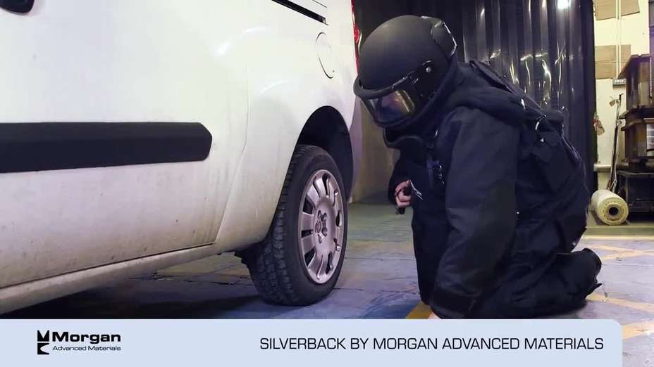 Silverback 4020 Elite bomb disposal suit by Morgan Advanced Materials