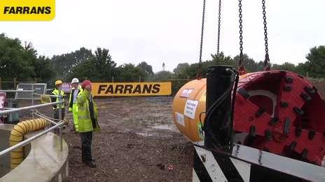 Farrans Construction - Abberton Scheme Tunnelling