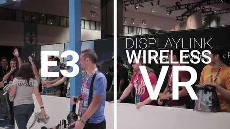 Wireless VR with Miniguns!!! | DisplayLink @ E3