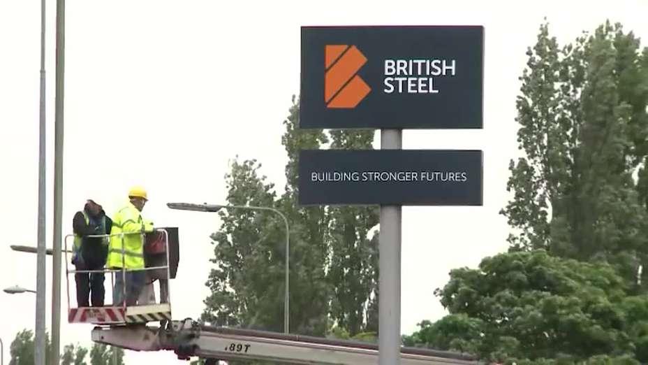 British Steel Launch Day