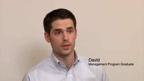 David - Management Programme Graduate