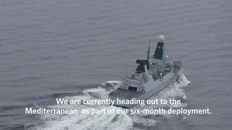 Goodbye HMS Duncan, welcome home HMS Argyll