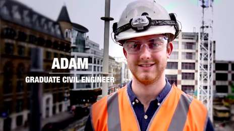Kier Graduate Profiles - Adam, Graduate Site Engineer