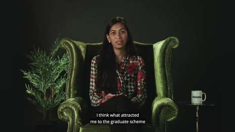 Diya explains why she chose Deloitte's Graduate Programme