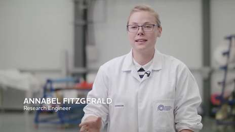 Annabel Fitzgerald - her journey into an engineering career at the NCC