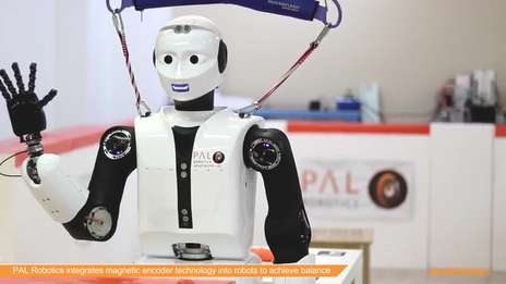 PAL Robotics integrates magnetic encoder technology into robots to achieve balance
