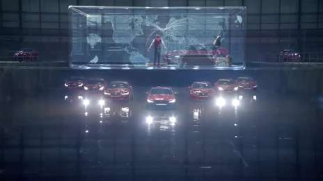 Jaguar XE - Behind The Scenes Shoot.