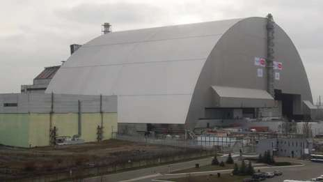 Chernobyl's new safe confinement