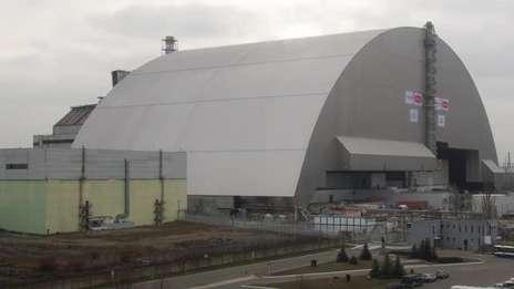 Chernobyl's new safe confinement
