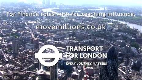 Finance roles at TfL: Move Millions