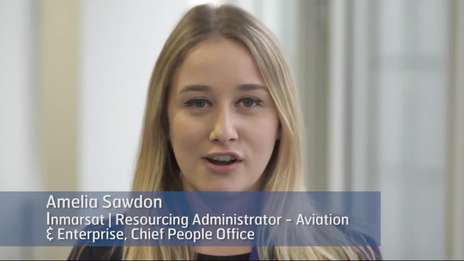 Inmarsat: A great place to work - Milly Sawdon