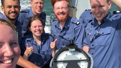 Royal Navy Internship - Jane