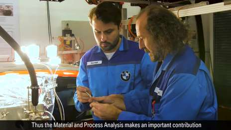 A look inside the Material and Process Analysis at the BMW Group
