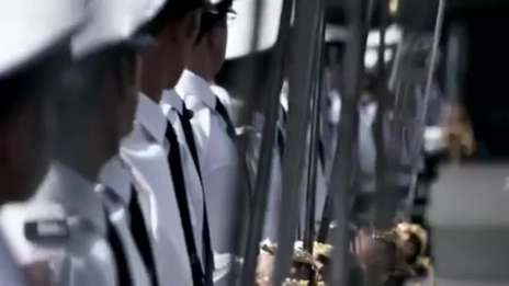 Royal Navy Officer training